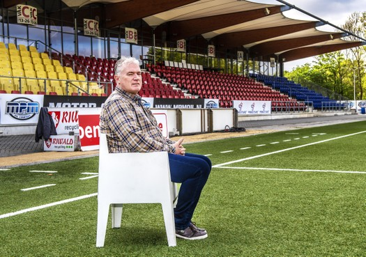 Telstar teammanager Bert van Duijvenbode: 'Als speler werd ik stijf gescholden door Cor van der Hart'
