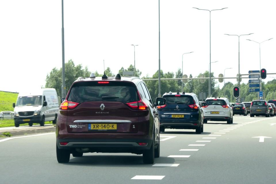 Een unieke proef met slimme verkeerslichten én slimme auto's.