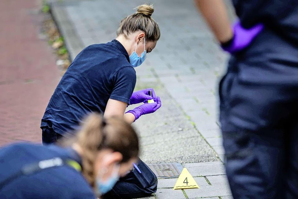Mede op basis van sporenonderzoek konden de verdachten aangehouden worden.