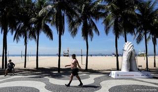 Brazilië meldt record van 1910 coronadoden in een dag