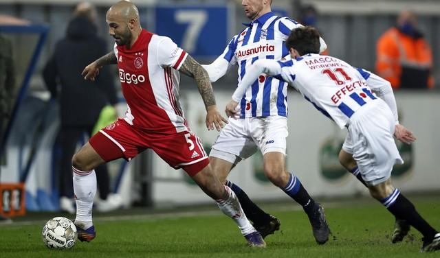 Klaiber gaat iedere dag knokken voor meer speeltijd bij Ajax