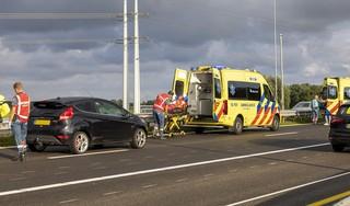 Meerdere gewonden bij ongeval op A9 Spaarndam