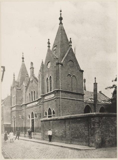 Synagoge van de Israëlitische Gemeente te Haarlem (1911)