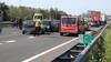 Lange file op A9 richting Alkmaar door meerdere botsingen [update]