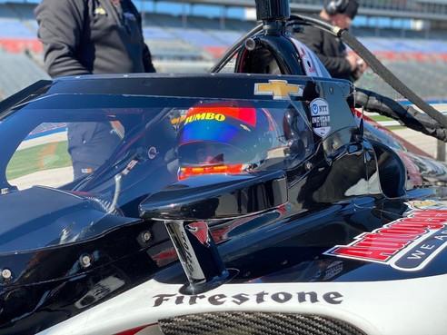Rinus van Kalmthout maakt weer indruk in de IndyCar: snelste coureur tijdens test op Texas Motor Speedway