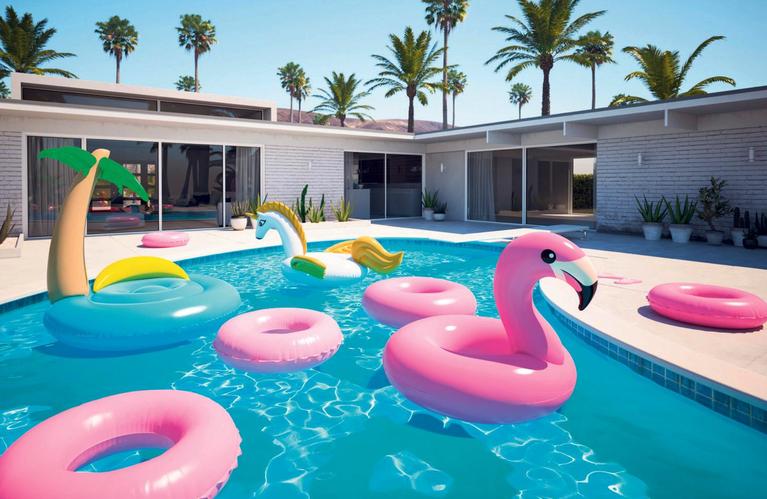 In Palm Springs doet stijl ertoe