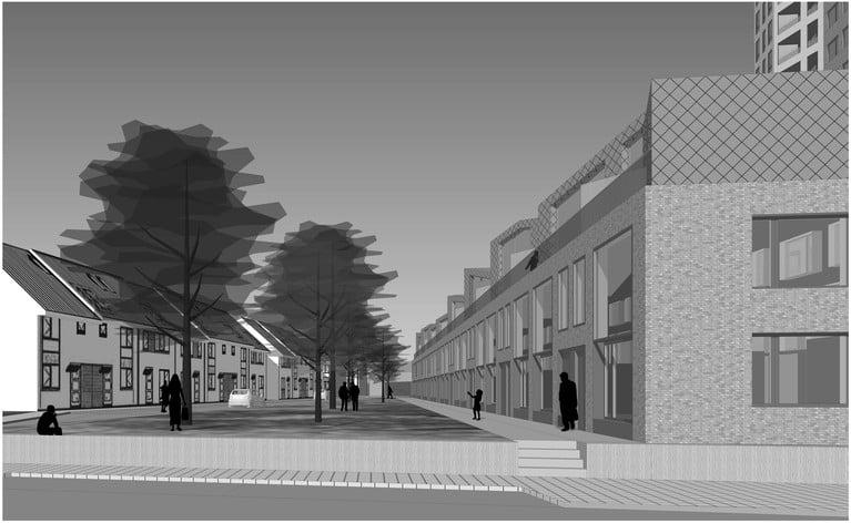 Woningen Schoterkwartier op voormalig Deliterrein Haarlem gaan in verkoop
