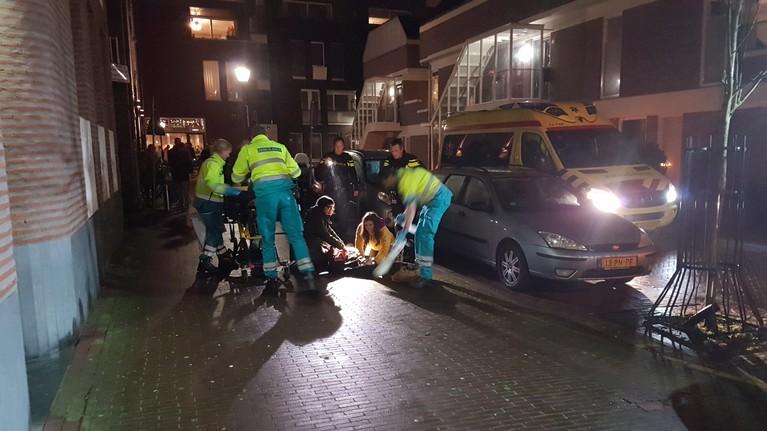 Beverwijker neergeschoten in centrum Haarlem, verdachte op de vlucht