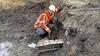 Al meteen de eerste uren: archeologen stuiten in Oud-Loosdrecht op resten kosterij befaamde dominee Mol