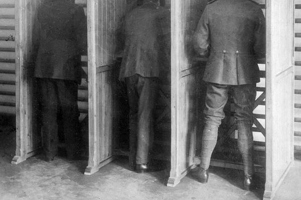 In het kieshokje van 1918