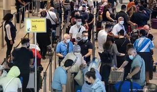 Relatief veel mensen besmet geraakt op vakantie