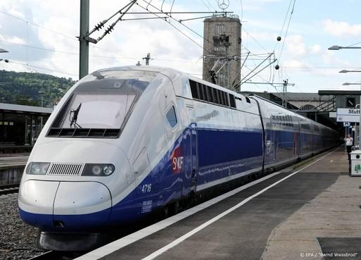 Speciale TGV brengt coronapatiënten naar West-Frankrijk