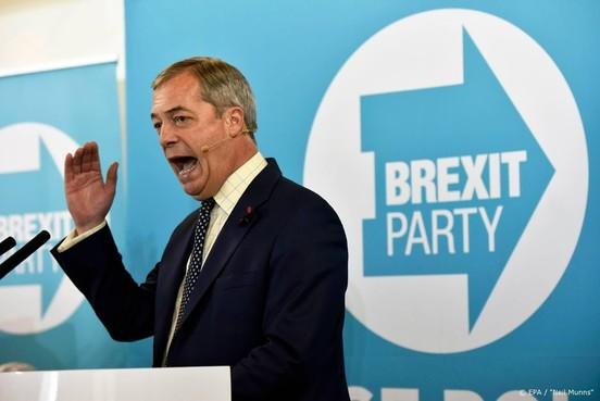 Brexitparty trekt zich deels terug voor brexit