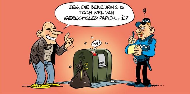 Lezersenquête Ombudspanel: ergernis over wangedrag rond afvalcontainers