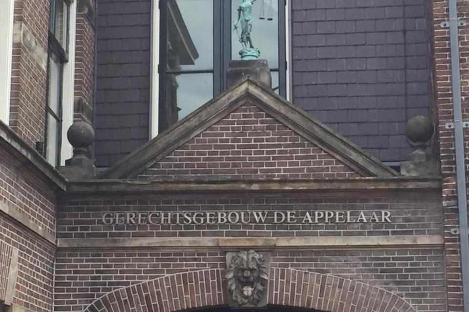Poort van de Haarlemse rechtbank.