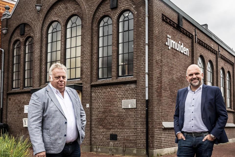Bas Kuntz (links) en Jeroen Verwoort. ,,Die diversiteit maakt ons juist apart.''