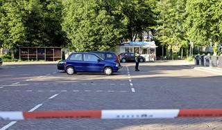 Op de plek van de schietpartij in Haarlem-Noord is het nooit rustig. 'Ze moeten toch ergens hangen'