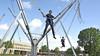 Heemskerkse kinderen hebben vakantielol: dansen en trampoline springen