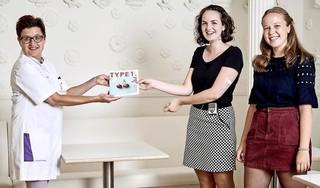'Ook met diabetes type 1 kan je een actief en leuk leven leiden'. Anne (21) en Sanne (21) lanceren magazine met positieve ervaringen van leeftijdsgenoten