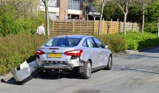 Flinke schade bij aanrijding in Hoofddorp