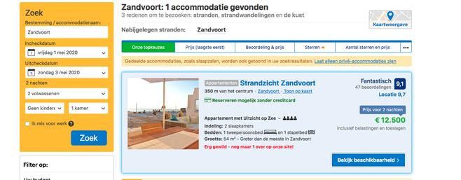 F1: Jackpot voor hotels in Zandvoort en omgeving