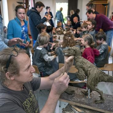 Dino's herleven in oudste museum van Nederland: 'Weet-niet-schappers' in Teylers