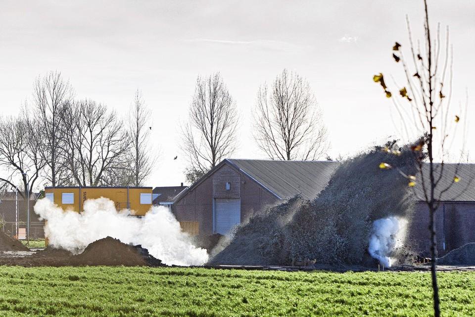 Deze bom werd in Rijsenhout tot ontploffig gebracht.