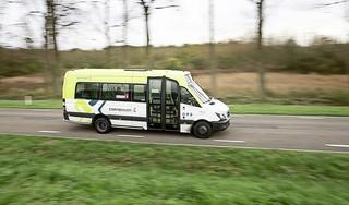Buurtbus in Noord-Holland mag met kuchscherm weer op pad