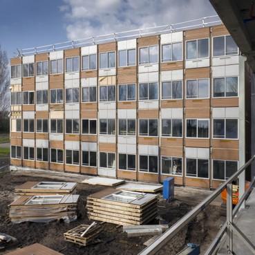 Raad van State buigt zich vrijdag over bouwplan 160 containerwoningen Delftplein Haarlem