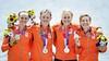 Zilver voor vier-zonder in olympisch roeitoernooi met Loosdrechtse Veronique Meester