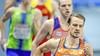 Atleet Jochem Dobber uit Santpoort-Zuid op 400 meter naar halve finale EK indoor