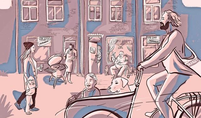 'Onvoorstelbare' woningprijzen in oude Haarlemse volksbuurt; in de razend populaire Leidsebuurt heeft de snackbar inmiddels plaatsgemaakt voor een espressobar