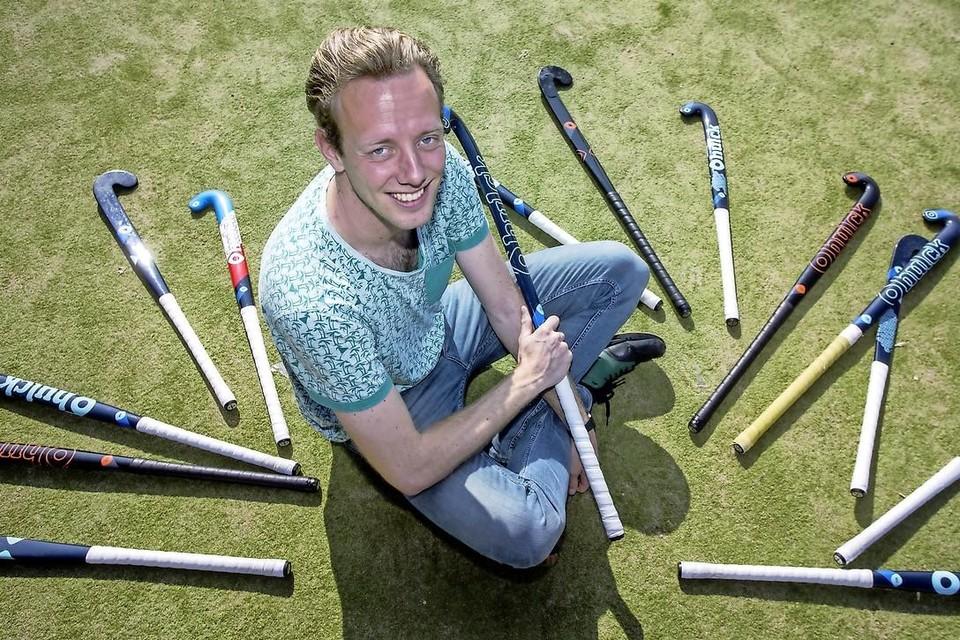 Sjoerd Woelders van Bennebroek: ,,Inderdaad fluit bij ons regelmatig de vader van een van de speelsters.''