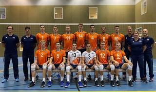 Yannick Bak en Kian Macnack werken hard aan hun volleybaldroom. Eerste tussenstop Tsjechië voor EK met Jong Oranje