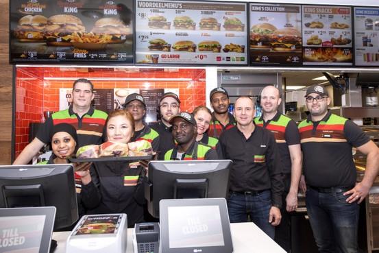 Lekkere entree van Beverwijk voltooid met komst van Burger King. Met de Crown Café als parel