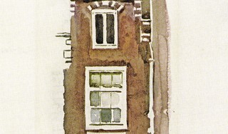 Aquarel van impressionist Max Liebermann blijkt Haarlems vishuisje aan de Grote Markt; Praathuis van lokale visloopsters ten onrechte aangezien voor Amsterdamse trapgevel