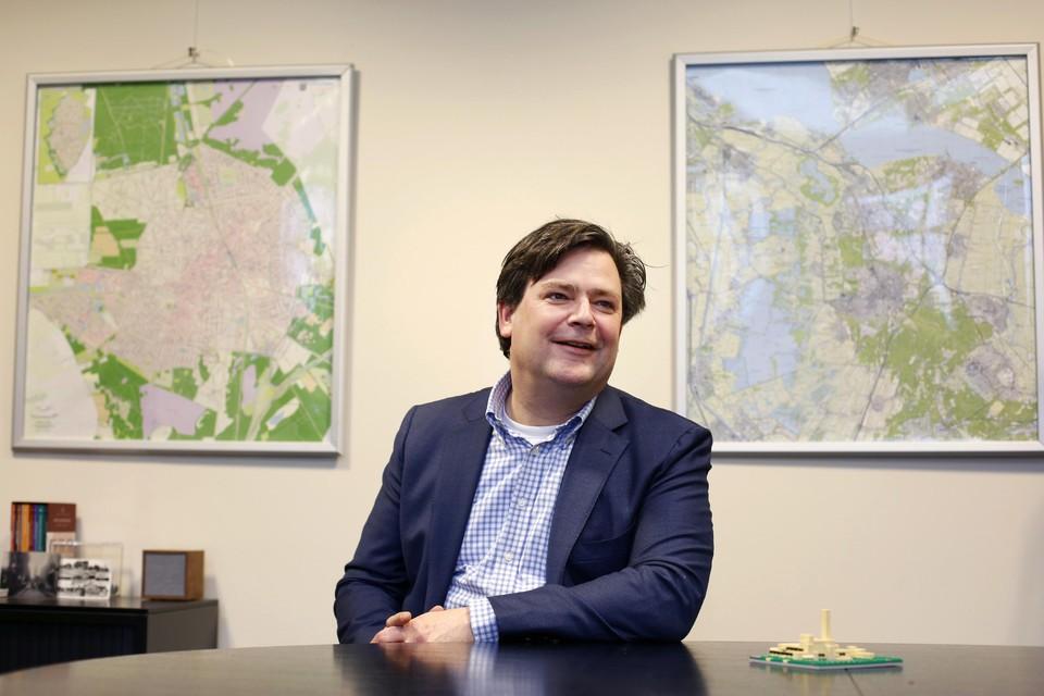 Wethouder Floris Voorink wilde dat zijn voorstel werd weggestemd.