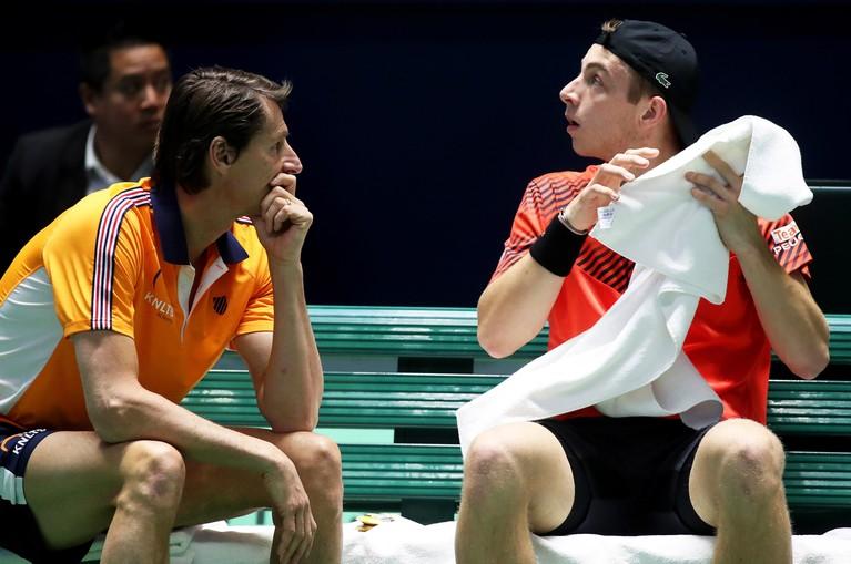 Tennisser Griekspoor kan Boeblik niet verrassen in Daviscup [video]