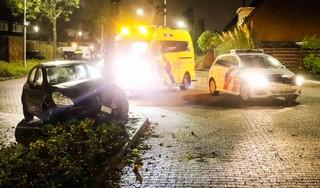 Vrouw aangehouden nadat ze tegen boom rijdt in Hoofddorp