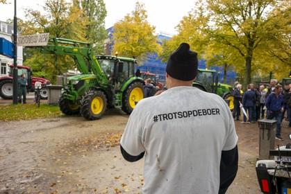 Boeren nog bozer: maar liefst 300 trekkers naar Haarlem maandag