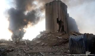 Veiligheidsfunctionaris: explosie Beiroet door ammoniumnitraat