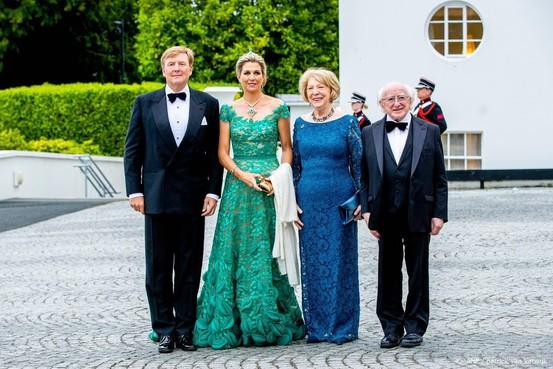 Koning heeft begrip zorgen Ierland om brexit