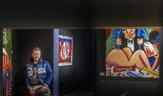 Kunstenaar Selwyn Senatori heeft geen tijd om dood te gaan