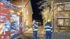 Forse rookontwikkeling bij schuurbrand aan de Kerkhoflaan in Zwanenburg, meerdere brandweereenheden weten brand te blussen