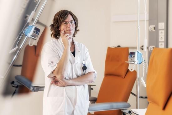 Op bezoek in het NKI: Een sprankje hoop voor ongeneeslijk zieke patiënten