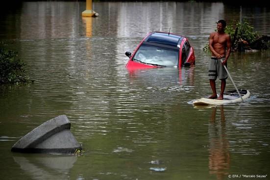Doden door noodweer in Brazilië