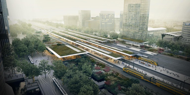 Project Zuidasdok in pauzestand voor besluiten over spoor en A10 [video]