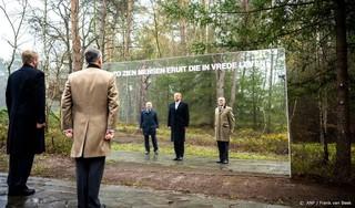 Koning opent nieuwe begraafplaats voor veteranen