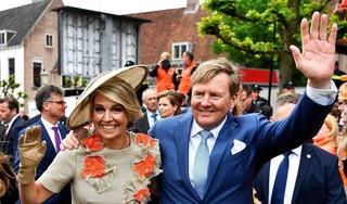 Koning en gezin vieren Koningsdag 2021 in Eindhoven