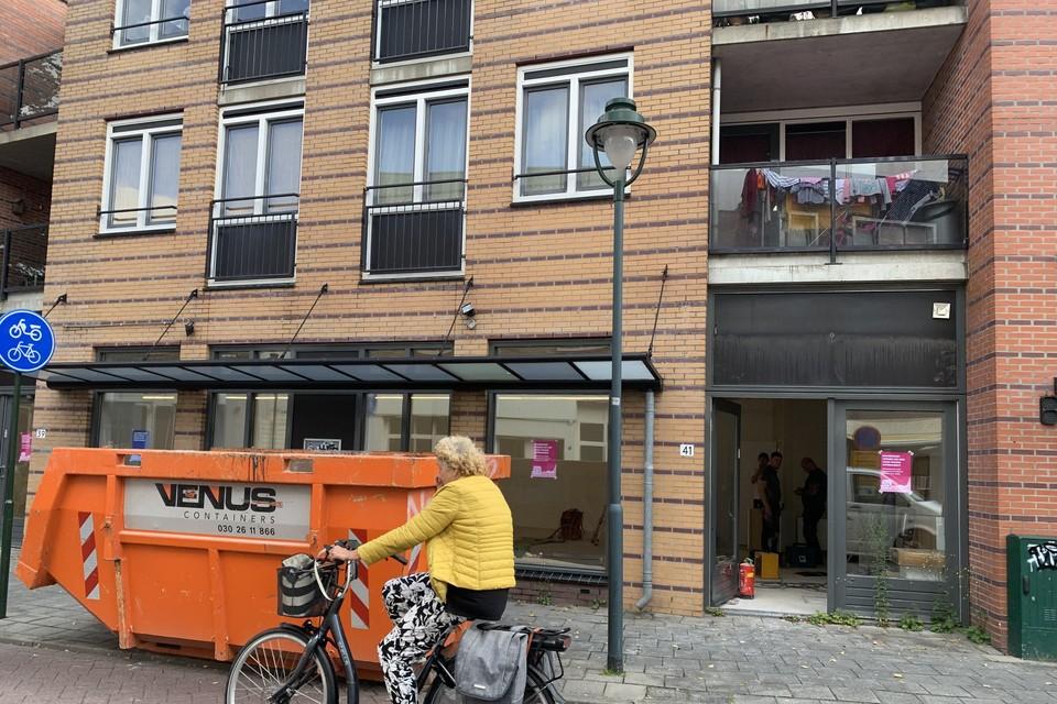 In de Kampstraat bouwt online supermarkt Flink een hub.